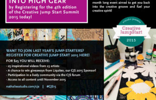 Rev your engines, it's Creative Jumpstart 2015 time